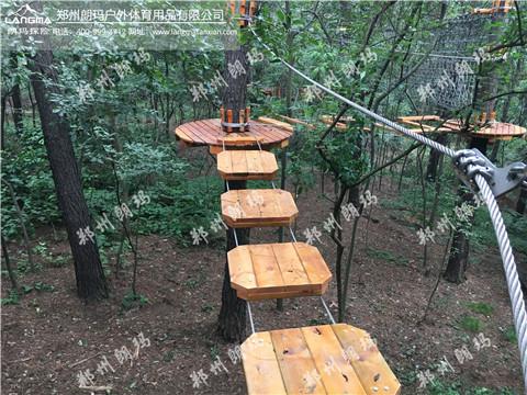 南京市松鼠咔咔森林乐园飞越丛林图片